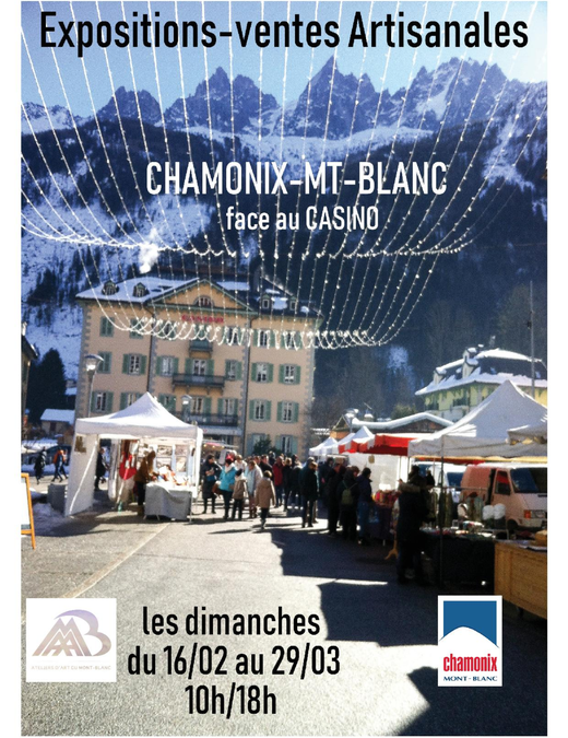 Expositions – Ventes artisanales à Chamonix