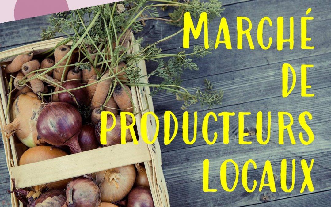 Marché de producteurs locaux – Loëx